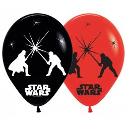 5 balonów led STAR WARS - 28 cm
