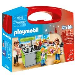Playmobil 9543 - Kuchnia, zestaw w walizeczce