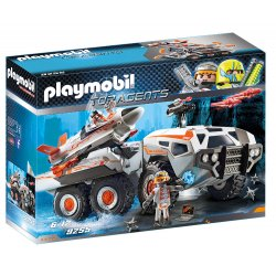 Playmobil 9255 - Wehikuł Bojowy Top Agents