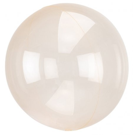 Balon Crystal Clearz - Pomarańczowy - 45 cm