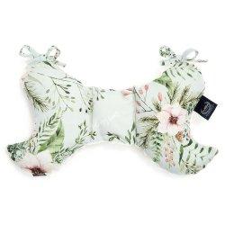 Poduszka Angel's Wings, Wild Blossom Mint, Ecru - La Millou