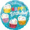 Balon foliowy BABECZKI z napisem Happy Birthday