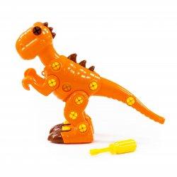Polesie 76700 - Dinozaur do skręcania, Tyranozaur