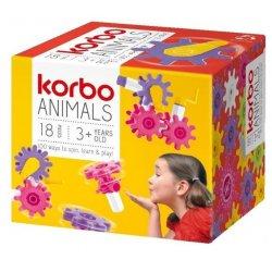 Klocki Korbo - Animals 18el