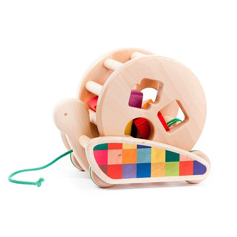 Zabawka do ciągnięcia Bajo 37840 - Sorter