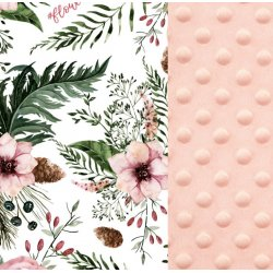 Poduszka Sleepy Pig, Wild Blossom, Powder Pink, Teal, La Millou