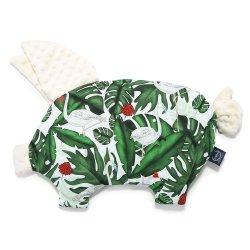 Poduszka Sleepy Pig, Evergreen Tiger, Ecru, La Millou