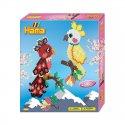 Hama 3246 - Papugi, koraliki midi
