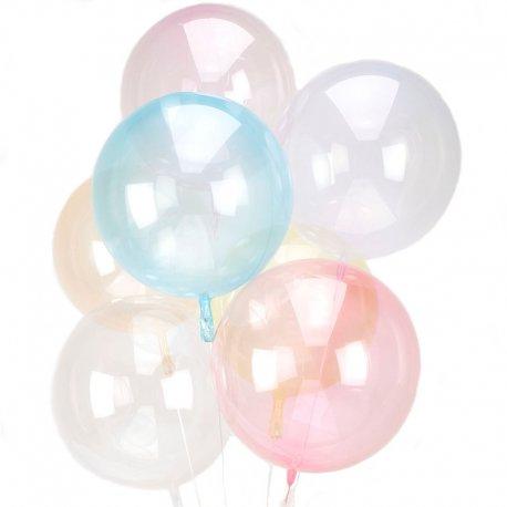 Bukiet z balonów Crystal Clearz - Przeźroczyste piękne balony
