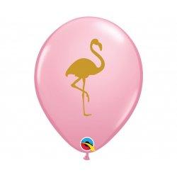 """Balon lateksowy """"Flamingo"""", jasno różowy - QL"""