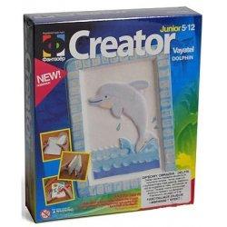 Obrazek gipsowy do malowania - Delfin - Elfmarket