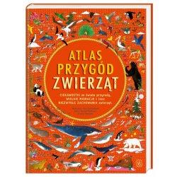Książka Atlas przygód zwierząt - Wydawnictwo Nasza Księgarnia
