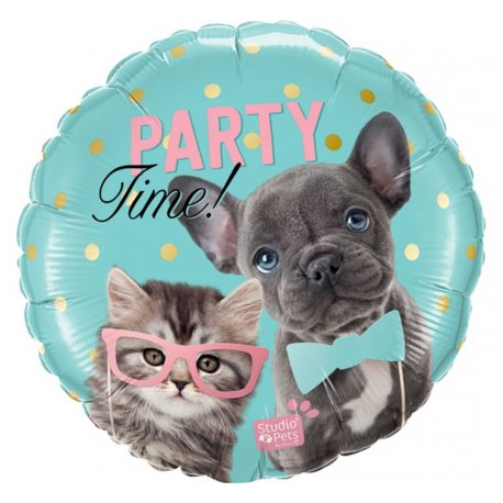 Balon Foliowy - Party Time 46 cm