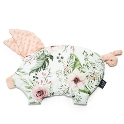 Poduszka Sleepy Pig, Wild Blossom, Powder Pink, La Millou