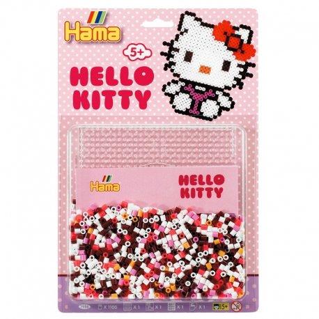 Hama 7986, koraliki midi, Hello Kitty