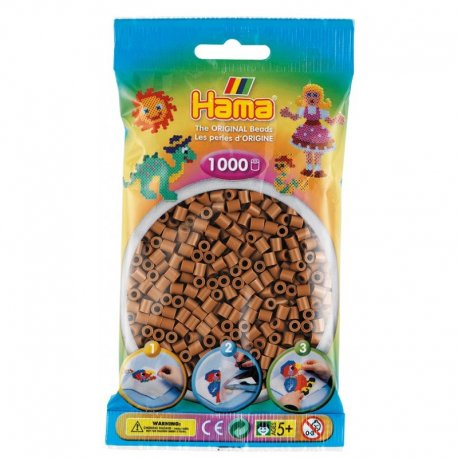 Hama 207-76 - Kolor nugat - 1000 szt midi