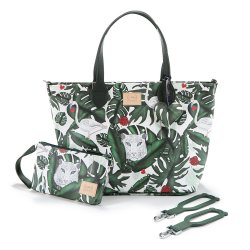 Torba medium Premium ZIP, Evergreen tiger, La Millou