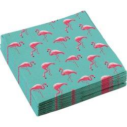 "Serwetki papierowe ""Flamingo Paradise"" 20 szt., 33 x 33 cm"