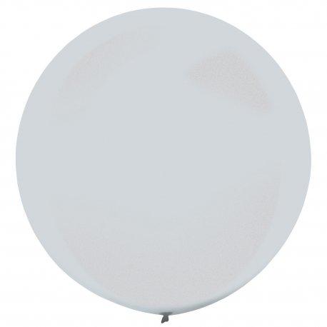 "Balon Dekoracyjny Metalilc Silver (Srebrny) - 60 cm (24"")"
