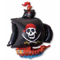 """Balon foliowy - Statek Piracki - 61 cm (24"""")"""