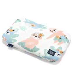 Baby Bamboo Pillow - Yoga Candy Sloths - La Millou