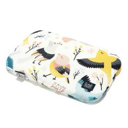 Baby Bamboo Pillow - Cute Birds Vivid - La Millou
