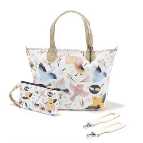 Torba medium Premium ZIP, Cute Birds, La Millou