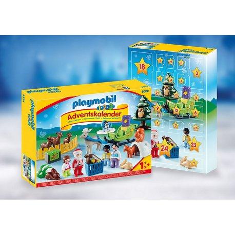 """Playmobil 9391 - Kalendarz adwentowy 1.2.3 """"Leśne święta"""""""