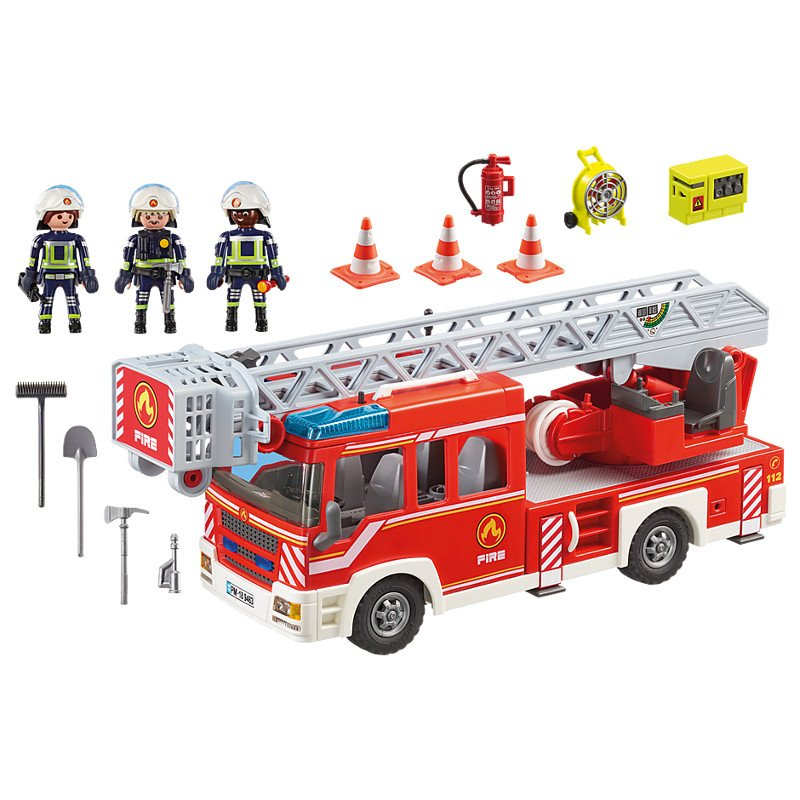 Playmobil 9463 - Samochód strażacki z drabiną