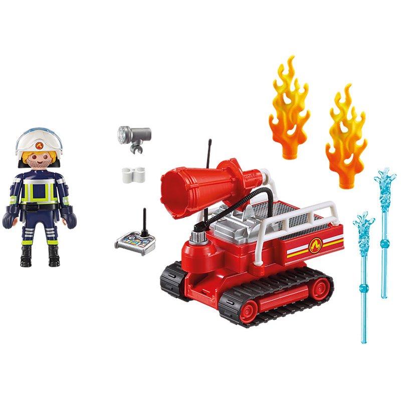 Playmobil 9467 - Robot do gaszenia pożaru.
