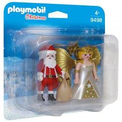 Playmobil 9498 - Duo Pack Mikołaj i Aniołek