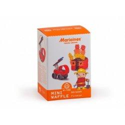 Klocki Mini Wafle - Strażak - Marioinex