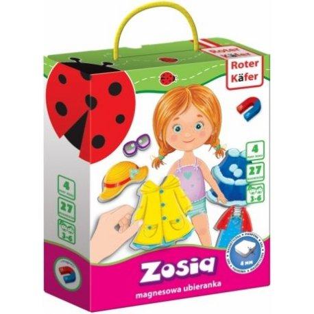 Roter Kafer, Zosia, przebieranka na magnesy