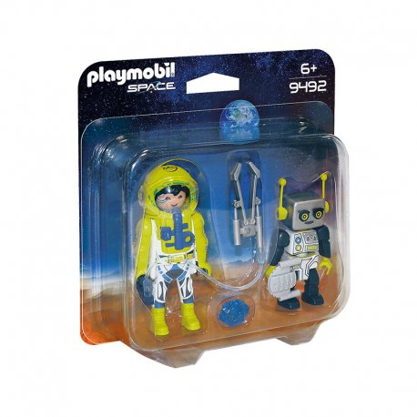 Playmobil 9492 - duo pack Astronauta i Robot