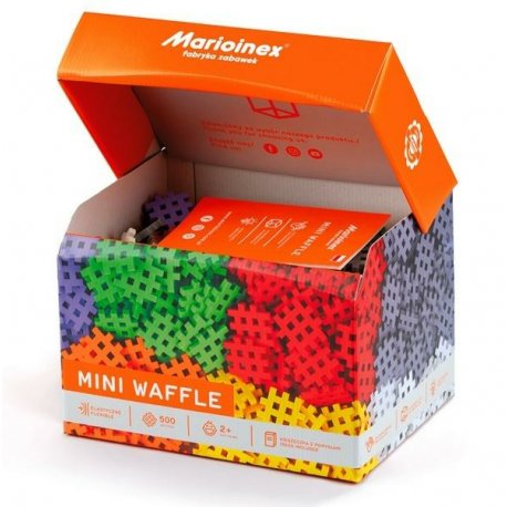Klocki mini wafle - Konstruktor - 500 elementów