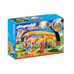 PLAYMOBIL 9494 - Stajenka z oświetleniem