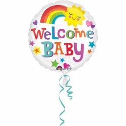 Balon na Narodziny Dziecka - Welcome Baby 43 cm