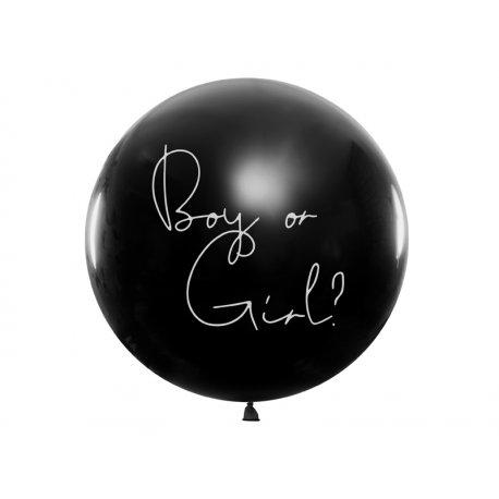 Balon Gender Reveal - Chłopiec, 1m