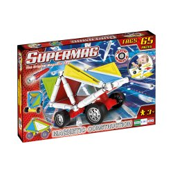 Klocki Supermag Wheels 65 - klocki magnetyczne Koła