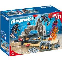 Playmobil 70011 SuperSet Akcja jednostki płetwonurków