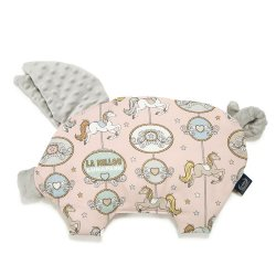Poduszka Sleepy Pig, Dream Lunapark, Light Grey, La Millou