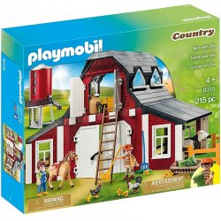 Playmobil 9315 – Country – Gospodarstwo rolne z silosem