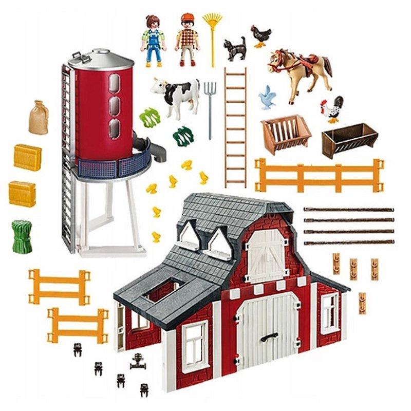Playmobil 9315 - Gospodarstwo rolne - lista elementów
