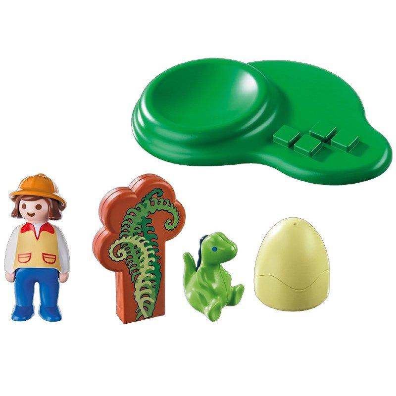 Playmobil 9121 - Mały dinozaur w jajku