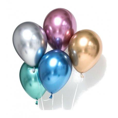 Balony chromowane - Qualatex - bukiet z balonów - Kraków