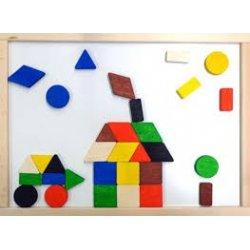 Magnetyczna mozaika geometryczna - Pilch