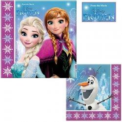 Serwetki Frozen - Kraina Lodu 33 x 33 cm 20 szt