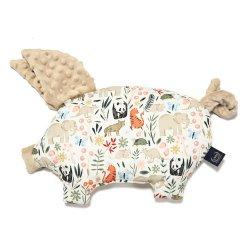 Poduszka Sleepy Pig, La Millou Zoo, Latte, La Millou