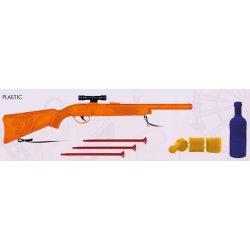 Pistolet na Strzałki - Zestaw z Butelkami - Gonher 909/0