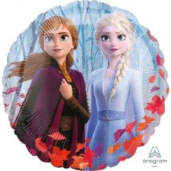 Balon FROZEN 2 - Elza, Anna oraz Olaf z Krainy Lodu